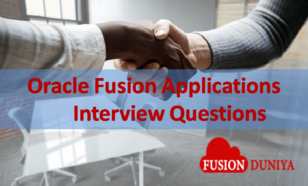 Oracle Fusion Applications Interview Questions
