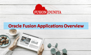 Oracle fusion applications overview