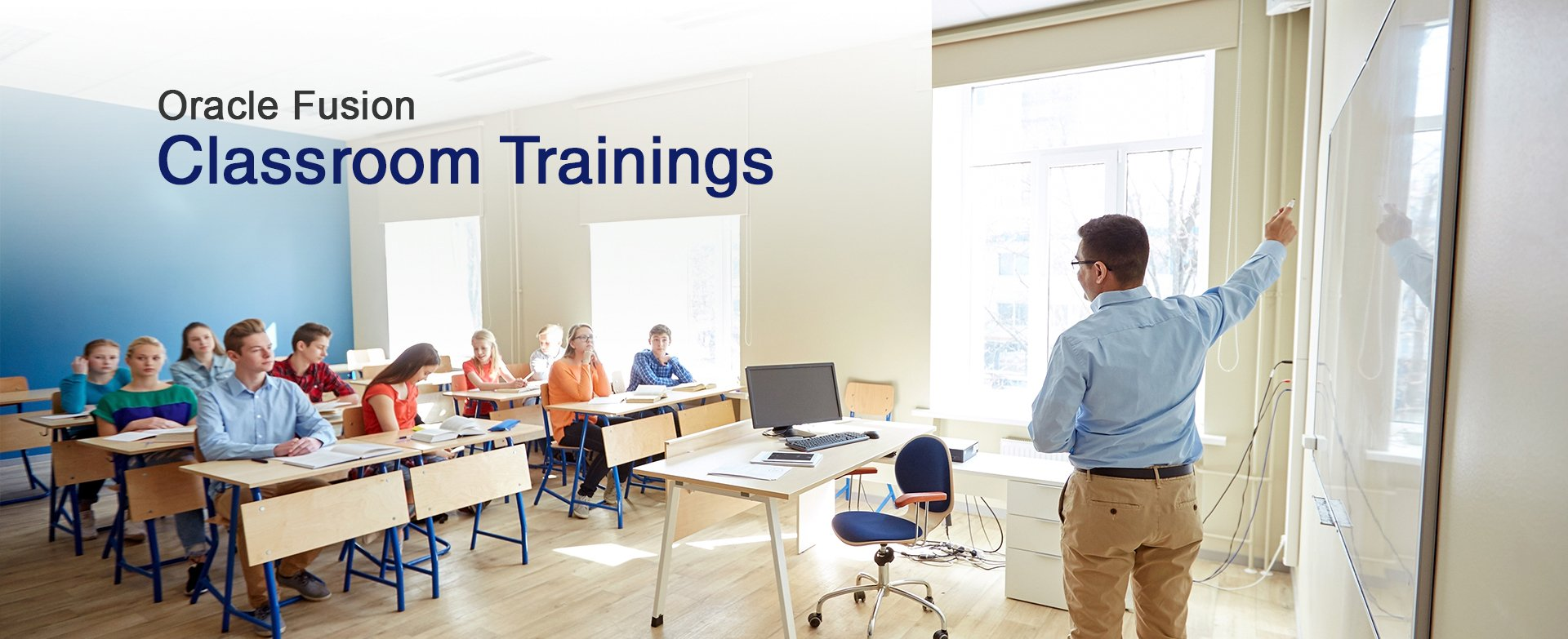 oracle fusion classroom training