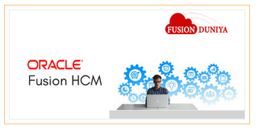 Oracle Fusion Human Capital Management HCM Training