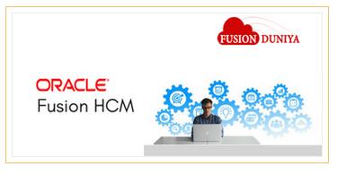 Oracle Fusion Human Capital Management HCM Training