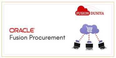 Oracle Fusion Procurement training