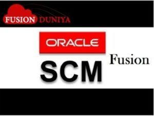 Oracle Fusion Supply Chain Management SCM Training
