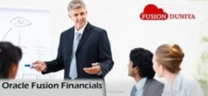 Oracle Fusion Financials Online training
