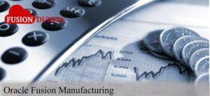 Oracle Fusion Manufacturing Training