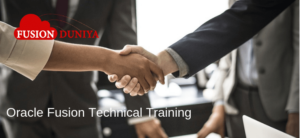 Oracle Fusion Technical Training