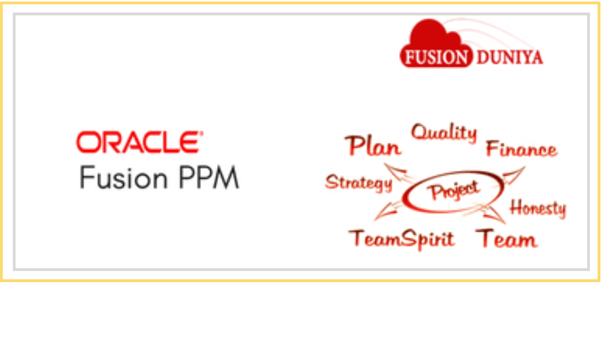 oracle fusion ppm training